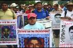 Los familiares de los desaparecidos se han manifestado en numerosas ocasiones