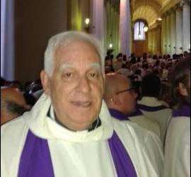 Ángel Moreno, de Buenafuente, en Roma