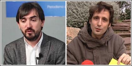 Nacho Escolar y Javier Gallego.