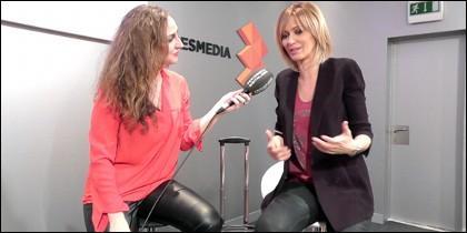 M.García entrevista a Susanna Griso.