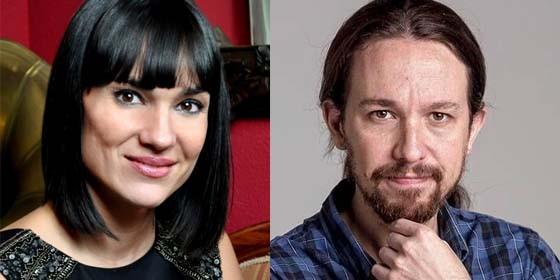 Irene Villa y Pablo Iglesias.