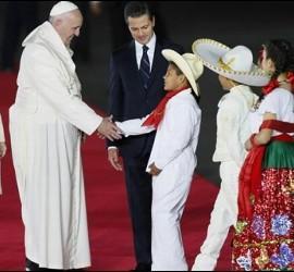 México recibió a Francisco
