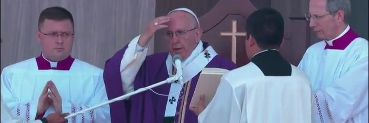 El Papa, en Ecatepec