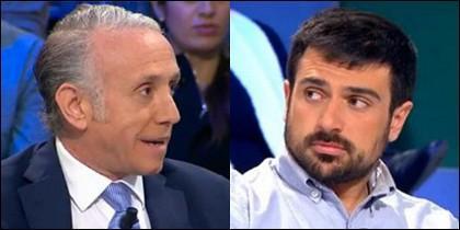 Eduardo Inda y Ramón Espinar.