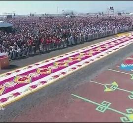 La multitud en Ecatepec