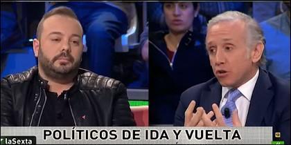 Antonio Maestre y Eduardo Inda.