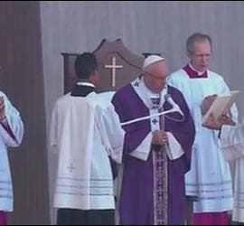 Misa del Papa en Ecatepec