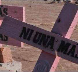 Cruces por mujeres muertas en Ciudad Juárez