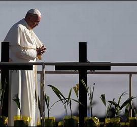 El Papa, en la valla de C. Juárez