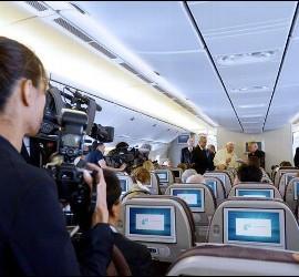 Francisco, durante el vuelo