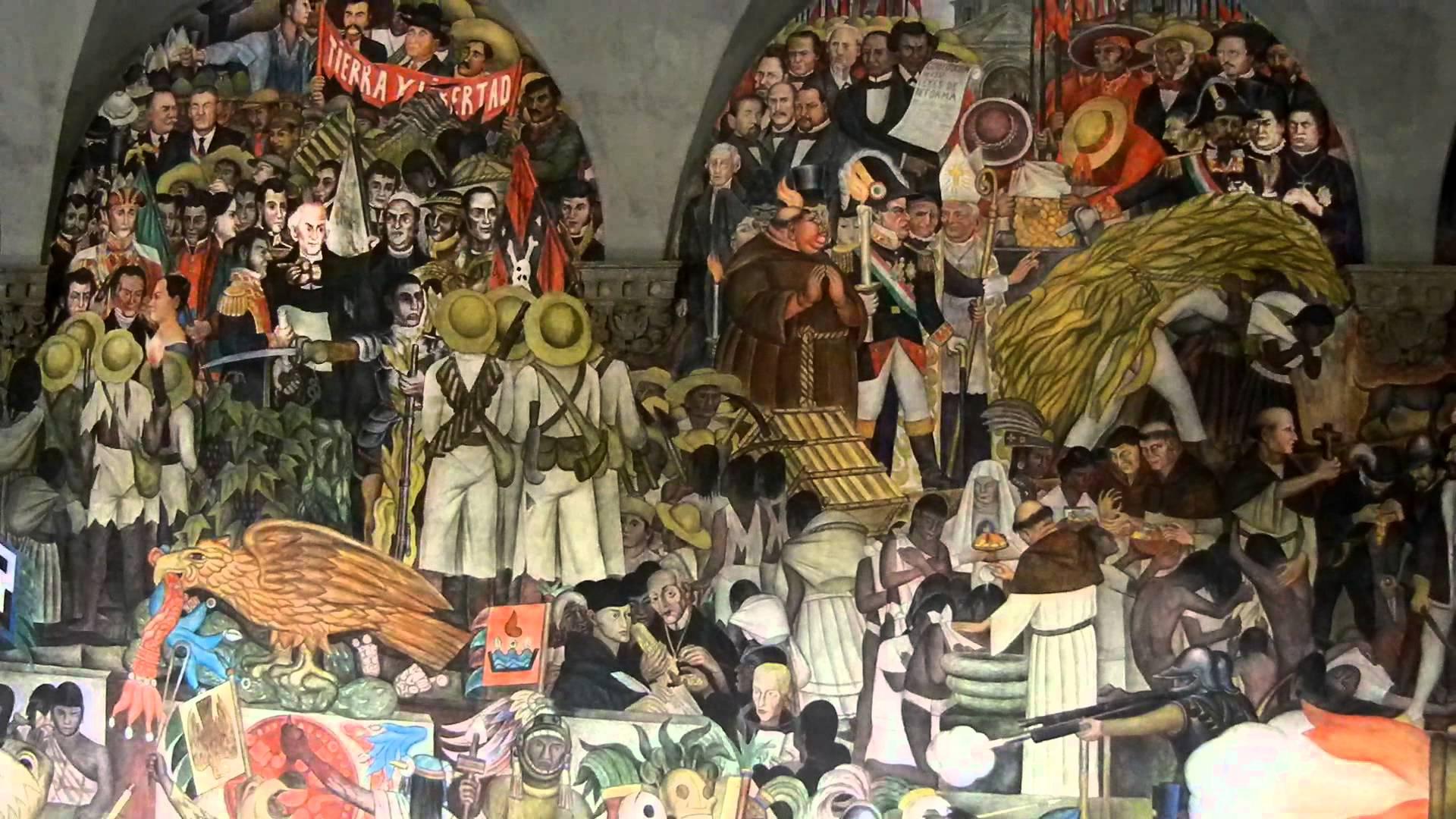 Las frases m s duras del papa francisco en m xico for Un mural de diego rivera