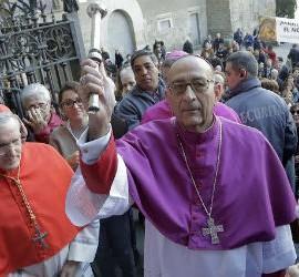 Omella, con el cardenal Sistach