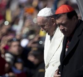 Francisco, con Norberto Rivera