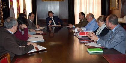 Reunión de representantes de  instituciones y entidades implicadas en la celebración de la efeméride Numancia 201