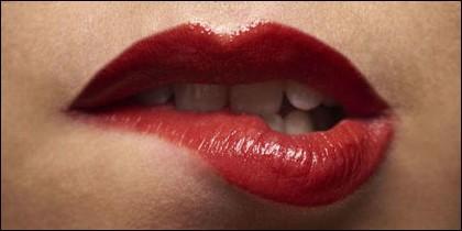 Placer, erotismo, sexo, pudor, labios, boca.