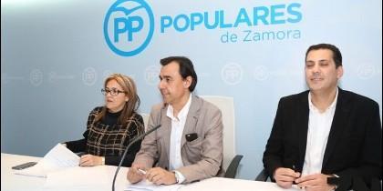 Martinez Maillo presentando la nueva estructura del PP en Zamora