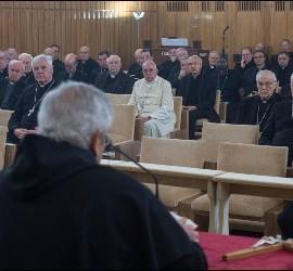 Ejercicios espirituales del Papa