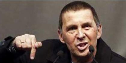 El proetarra Arnaldo Otegi, autor de tres secuestros y otros crímenes.
