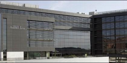 Edificio de la ADE en Arroyo de la Encomienda.