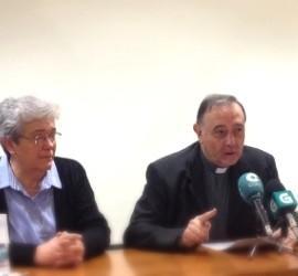 Luis Ángel de las Heras, junto a la nueva presidenta de Confer