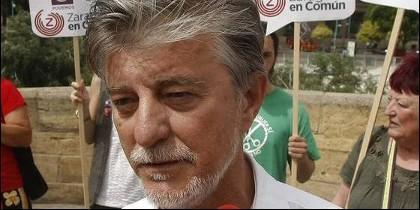 Pedro Santisteve, alcalde de Zaragoza
