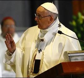 El papa en Mexico