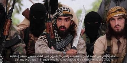 Yihadistas franceses en las filas del DAESH llaman a loas armas a los musulmanes residentes en Europa.