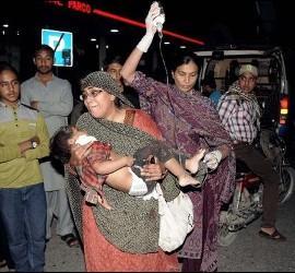 Brutal atentado terrorista en Lahore