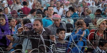 Refugiados, inmigrantes, desplazados.