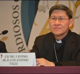 El cardenal Tagle, hoy en la conferencia