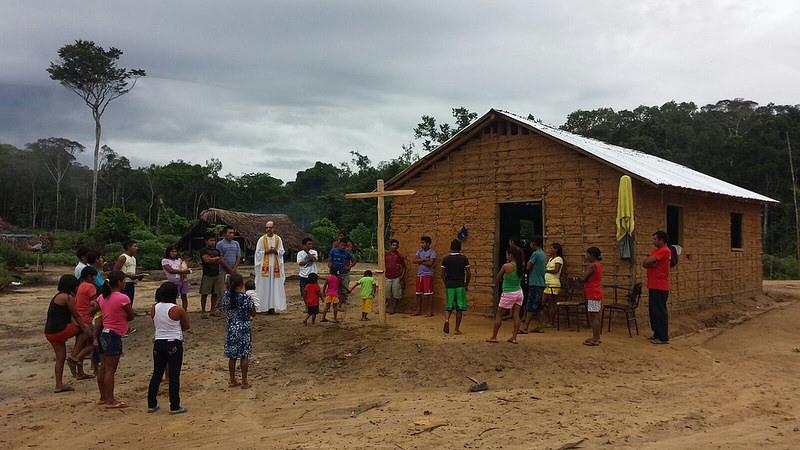 misionero pueblo