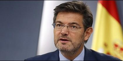 Rafael Catalá, ministro de Justicia de España.