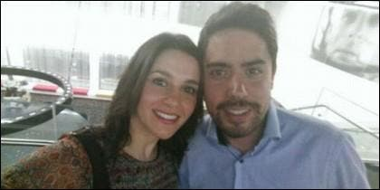 Inés Arrimadas y Xavier Cima.