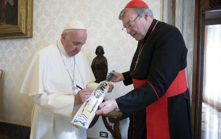 Resultado de imagen para george pell y el papa francisco