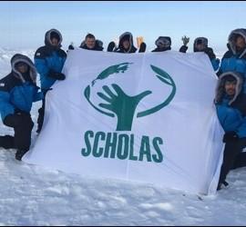 Scholas en el Polo Norte
