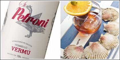 Vermú St.Petroni, la esencia de Galicia recogida en una copa.
