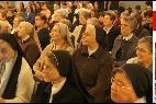 La vida consagrada de habla española se congrega en Roma