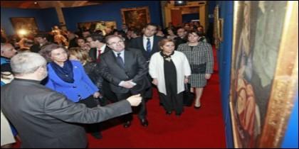 La Reina doña Sofía inaugura Las Edades del Hombre de Toro