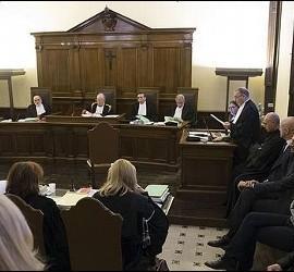 Imagen del juicio por el Vatileaks II