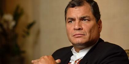 Rafael Correa Delgado.