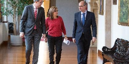Los Presidentes de la Diputación de Zamora y de Salamanca, Mayte Martín y Javier Iglesias