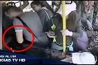 Paliza en el bus