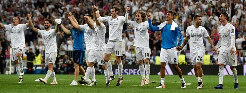 Las caras largas (que nunca saldrán del vestuario blanco) apuntan al Atlético