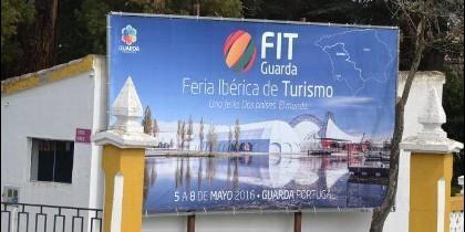 Cartel anunciador de la Feria Iberica  de Turismo