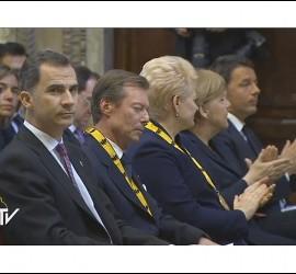 El Rey Felipe en el Carlomango al Papa