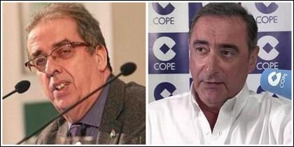 Santiago González y Carlos Herrera.