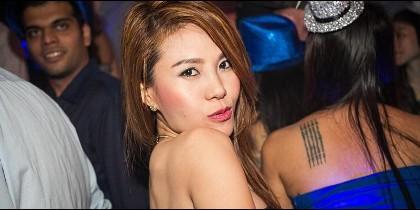 Una joven muy sexy