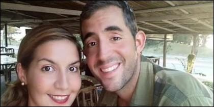Los dos españoles desaparecidos en Malasia.