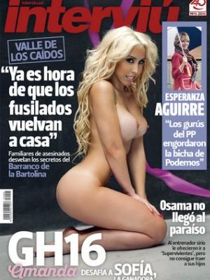 Amanda De Gh 16 Sale Desnuda En La Portada De Interviú