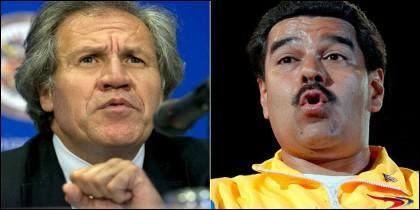 Luis Almagro y Nicolás Maduro empezaron a distanciarse desde finales de 2015